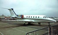 N715BC @ EDDV - Cessna Citation III [650-0018] Hannover~D 22/05/1984. From a slide.