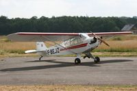 F-BEJZ @ LFES - Piper J3C-65 Cub, Static display, Guiscriff airfield (LFES) open day 2014 - by Yves-Q