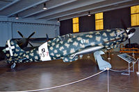 MM9667 @ LIRB - Macchi MC.202 T-AS Folgore [Unknown]  (Museo Storico dell'Aeronautico) Vigna di Valle~I 12/09/1999