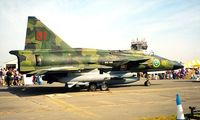37908 @ EGVA - Saab SH-37 Viggen [37908] (Swedish Air Force) RAF Fairford~G 21/07/1996
