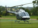 G-LBDC @ EGHR - 1984 Bell 206B, c/n: 3806 at Goodwood