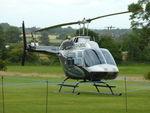 G-LBDC @ EGHR - 1984 Bell 206B, c/n: 3806 at Goodwood - by Terry Fletcher