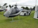 G-UMBL @ EGHR - 2014 Guimbal Cabri G2, c/n: 1068 at Goodwood