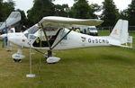 G-SCMG @ EGHR - 2014 Ikarus C42 FB80 BRAVO, c/n: 1402-7304 at Goodwood