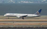 N577UA @ KSFO - Boeing 757-200 - by Mark Pasqualino