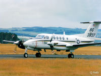 163837 @ EGQL - Scanned from print. Taxy to take-off of Rwy 27 at RAF Leuchars EGQL - by Clive Pattle