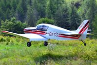 F-BKSS @ ZZZZ - Landing with a 15 kt tailwind, slope = 8.5% ascending. - by Jean-Pierre Contal