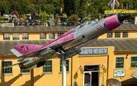 C993 @ EDRY - MiG-21SPS on the pole at Technikmuseum Speyer - by Friedrich Becker