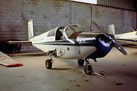 F-BHAK @ LFPN - Saab S.91B Safir [91-299] (Air France Aero Club) Toussus Le Noble~F 13/09/1980. From a slide.