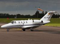 EC-HVQ @ EGSH - Taxiing to SaxonAir - by Matt Varley