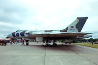 XM647 @ EGVI - Avro 698 Vulcan B.2 [SET79] (Royal Air Force) RAF Greenham Common~G 01/06/1980. From a slide.