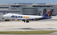 N492MC @ MIA - Atlas 747-400F