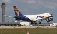 N498MC @ MIA - Atlas 747-400F