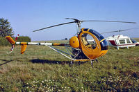 F-GBBO @ LFPR - Breda-Nardi NH.300C [003] Guyancourt~F 16/09/1978. From a slide.