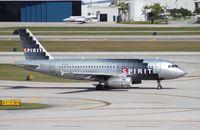 N526NK @ FLL - Spirit A319