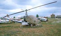 EC-ETG @ LECU - Hiller UH-12 J3 Raven [5067] Madrid-Cuatro Vientos~EC 22/04/1995
