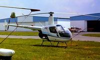 F-GGFC @ LFPL - Robinson R-22 Beta [0822] Lognes~F 17/06/1991