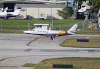 N590TA @ FLL - Gulfstream 100