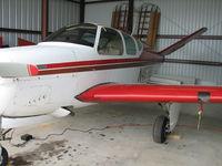 N4678D @ T41 - N4678D nestled in her hangar. - by Mark Barlow