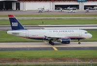 N704US @ TPA - US Airways A319