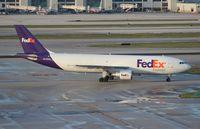 N725FD @ MIA - Fed Ex A300