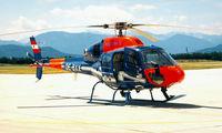 OE-BXX @ LOWK - Aerospatiale AS.355N Ecureuil II [5558] (Austrian Interior Ministry) Klagenfurt~OE 19/06/1996