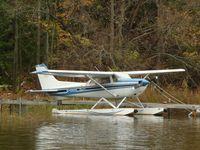 C-GVXZ - Docked in Callander Bay, ON - by Morgan Walker