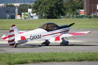 F-GKKM @ LFLI - Parked - by Romain Roux