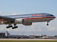 N767AJ @ MIA - American 777-200