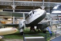 G-ADAH @ MOSI - On display at the Museum of Science and Industry, Manchester. - by Graham Reeve