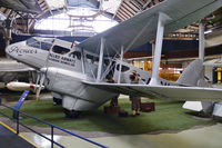 G-ADAH @ MOSI - On display at the Museum of Science and Industry, Manchester.