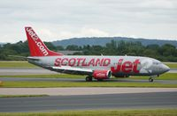 G-CELU @ EGCC - Just landed. - by Graham Reeve