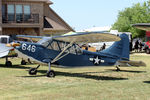 N63245 @ 16X - At the Propwash Party fly-in 2014