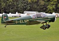 D-ELSM @ EDST - at Hahnweide - by Volker Hilpert