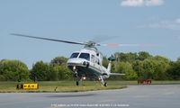 N401CV @ ESN - Landing at Easton Airport MD - by J.G. Handelman