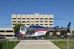 N426AE @ XA37 - At Plaza Medical Center
