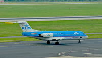 PH-KZA @ EDDL - KLM Cityhopper, is here taxiing to RWY 23L at Düsseldorf Int'l(EDDL) - by A. Gendorf