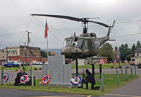 66-16014 - This Huey is part of a veterans memorial, across the street from the American Legion Post in Jersey Shore, PA. - by Daniel L. Berek