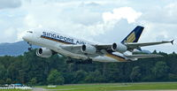 9V-SKK @ LSZH - Singapore Airlines, lifts powerful up from RWY 16 at Zürich-Kloten(LSZH), bound for Singapore(WSSS) - by A. Gendorf