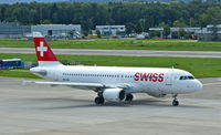 HB-IJS @ LSZH - Swiss, is here taxiing to the runway at Zürich-Kloten(LSZH) - by A. Gendorf