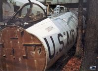 53-3968 - Canberra nose section.. Originally a RB-57D-2. Re-mfg 1965 to EB-57D. SOC 1972 MASDC. To NAFEC (Atlantic City -KACY) date unk. To scrapyard near Berlin,NJ -USA - by John Hevesi