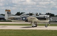 C-FRWG @ KOSH - North American T-28C - by Mark Pasqualino