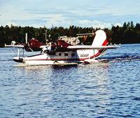 N644R @ LHD - Lake Hood Anchorage 9.8.89 - by leo larsen