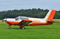 G-BKGA @ X3CX - Parked at Northrepps. - by Graham Reeve
