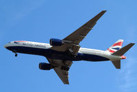 G-YMMK @ EGLL - Boeing 777-236ER [30312] (British Airways) Home~G 03/08/2014. On approach 27R. - by Ray Barber