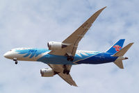 B-2735 @ EGLL - Boeing 787-8 Dreamliner [34928] (China Southern Airlines) Home~G 01/08/2014. On approach 27R. - by Ray Barber
