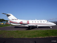 CS-DMR @ EGPN - Overnight stop for Netjets CS-DMR at Dundee - by Clive Pattle