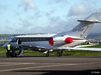 CS-DUF @ EGPN - Shortly after arrival at Dundee Riverside EGPN - Netjets CS-DUF - by Clive Pattle