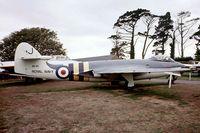 WM961 - Hawker Sea Hawk FB.5 [AW.5999] (Royal Navy) Torbay Aircraft Museum~G 13/10/1976. From a slide.