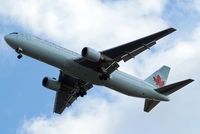 C-GHOZ @ EGLL - Boeing 767-375ER [24087] (Air Canada) Home~G 03/08/2014. On approach 27R.